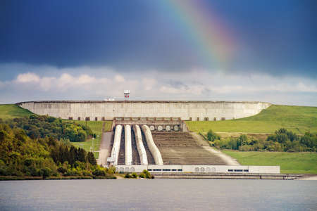 Kruonis Pumped Storage Plant is located near Kruonis, Lithuania, 34 km east of Kaunas. Its main purpose is to provide grid energy storage. It operates in conjunction with the Kaunas Hydroelectric Power Plant