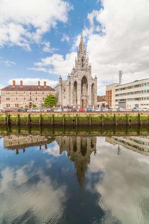 Holy Trinity Church In Cork  on the Father Mathew quay.Ireland.