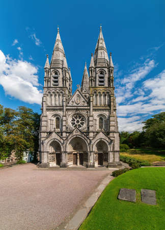 Saint Fin Barre's Cathedral. Cork, Ireland. Imagens