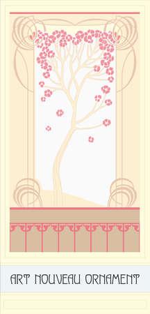 folliage: Vector Art Nouveau decor