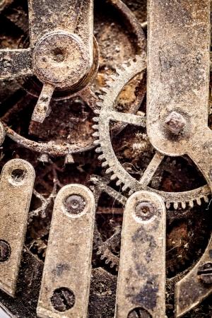 Grunge watch parts