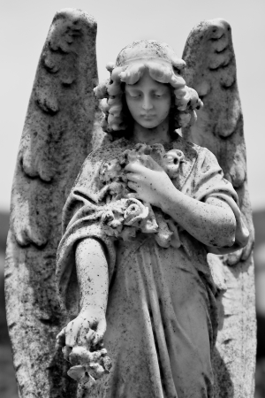 angel statue: Angel of peace