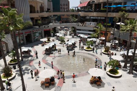 The world famous Highland shopping center in Hollywood, CA. Photo taken on June 10th, 2012.