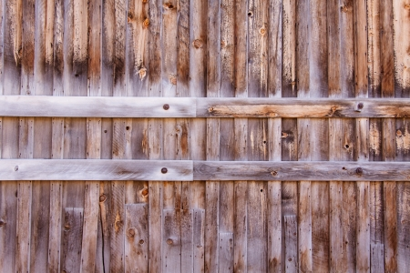 Weathered wood panel texture with natural patterns