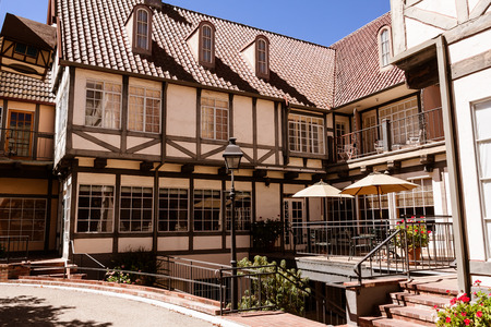 European architecture in the Danish town of Solvang near Santa Barbara, CA. Sajtókép