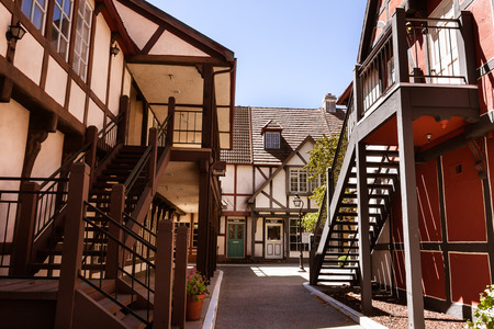European architecture in the Danish town of Solvang near Santa Barbara, CA. Stock fotó