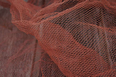 red net for fishing photo