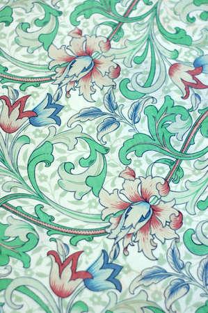 Art texture on old cloth photo