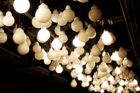 lamps on the ceiling photo
