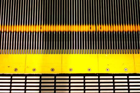 Escalator texture Stock Photo