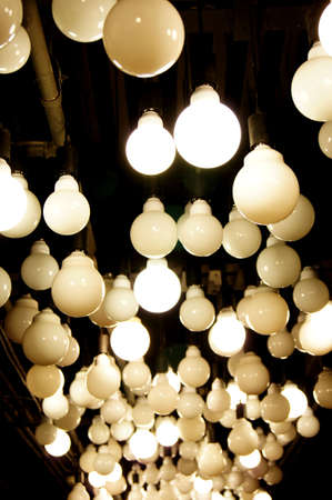 Lamps on the ceiling Stock Photo - 22214616