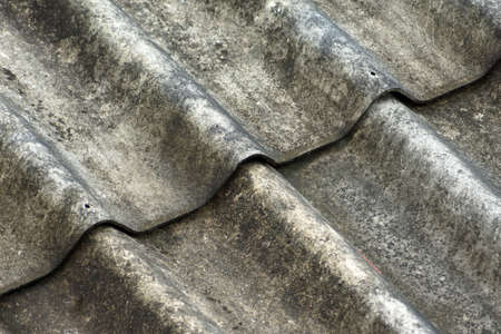 Part of old slate roof  photo
