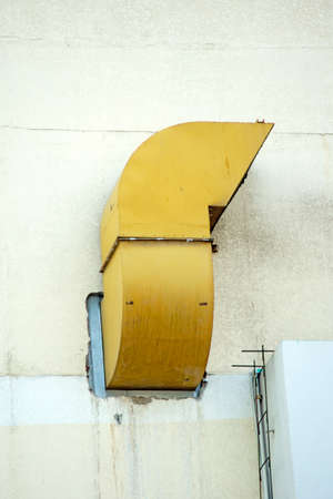 Ventilation pipe on a building