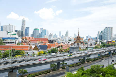Cityscape of Bangkok,Thailand  photo