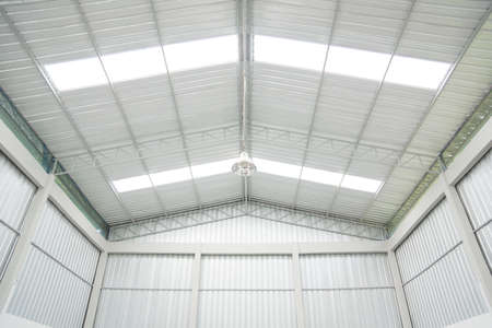 Storehouse ceiling Stock Photo