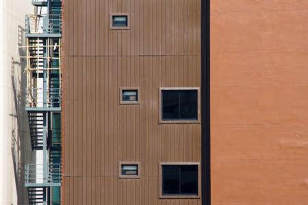 facade: Facade of modern office building