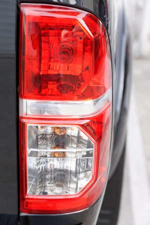 taillight: Car taillight Stock Photo