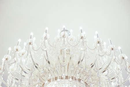 chandelier background: chandelier background - Soft focus