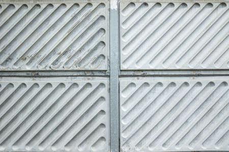 metal wall: Fiber Noise barrier near road side