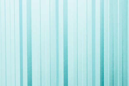 stainless steel sheet: Corrugated sheet as background - Soft light - light aqua green color Stock Photo