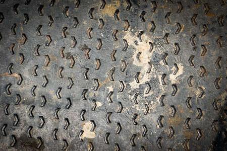 nonslip: Rusty Grunge of Non-slip steel plate background