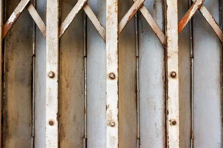 shutter door: Metal roller shutter door background