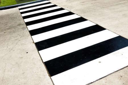 paso peatonal: Antecedentes del paso de peatones Foto de archivo