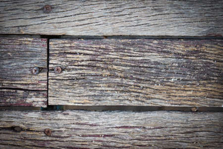 Vieux fond de planches de bois Banque d'images