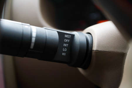 Cars control panel part