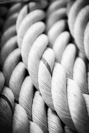 Abstract of ship rope.