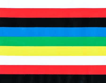 Real Color p.v.c. tape stripes pattern as abstract background