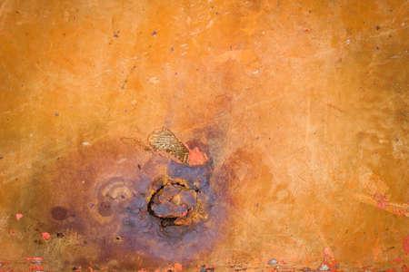 Rusty metal steel plate background