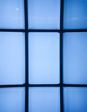 Abstract  blue windows background