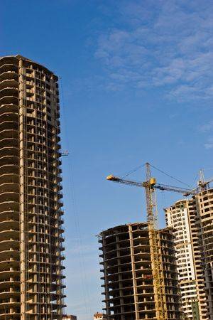 gibbet: under construction series: new building in modern city