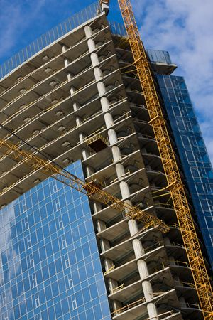 gibbet: construction series: new site of a modern building