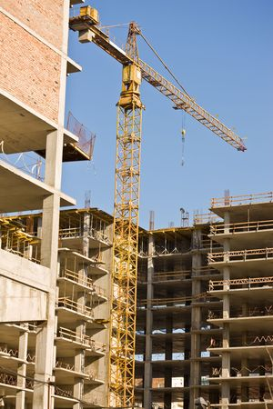 gibbet: city series: new modern building under construction