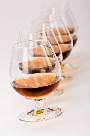 bocal: alcohol drink sereis: some bocal with cognac
