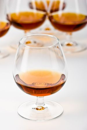 bocal: strong drink series: glassy  bocal with cognac