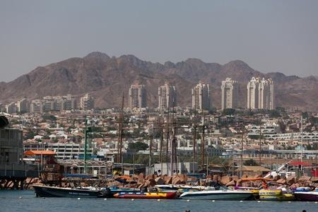 eilat: travel series: Red sea resort of Eilat, Israel Editorial