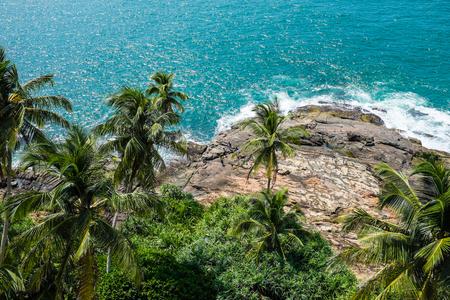srilanka: Indian ocean beach near Beruwala, Sri-Lanka
