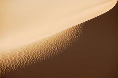 erg: Sand dunes in Sahara desert, Libya