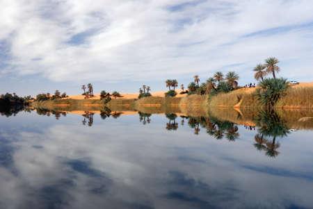 algeria: Ubari Oasi, Fezzan, Libya