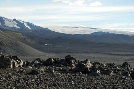 crampon: Glacier at Kverkfjoll, Iceland
