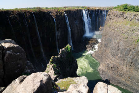 Victoria Falls panoramic view, Zimbawe