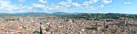 Aerial panoramic view of Florence, Florence, Italy