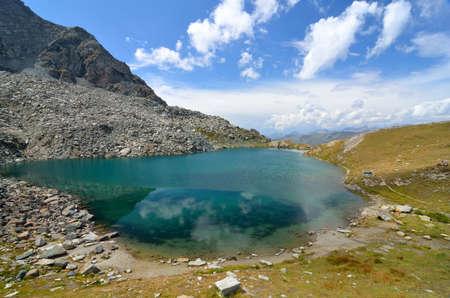 Pinter lakes, Valle dAosta, Italy