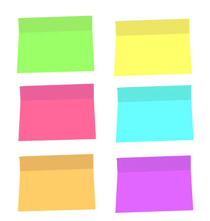 your text here: color vector stickers. put your text here