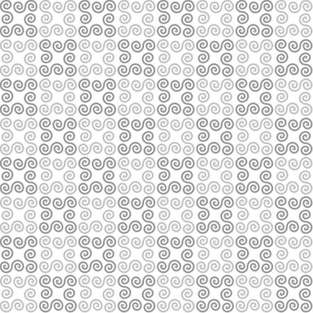 grey background texture: gray swirls on white background. white geometric background.  vector seamless pattern