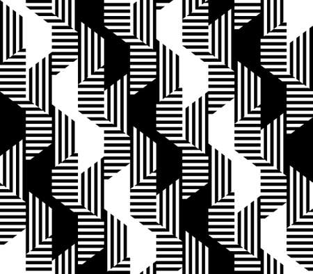 abstract geometric pattern. vector background. simple geometric shapes. black and white image