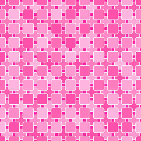 pink baby background. abstract square shapes. vector seamless pattern. simple color repetitive background. textile paint. fabric swatch. wrapping paper. continuous print.